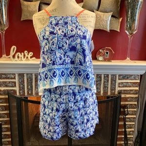 Lilly Pulitzer Celyn Lucky Trunks Romper